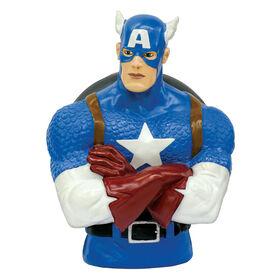 Marvel Captain America Bank - English Edition