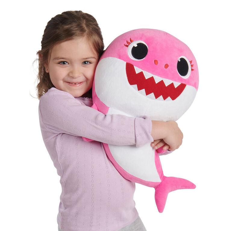 """Pinkfong Baby Shark - 18"""" peluche qui fait des soins - Mommy Shark"""