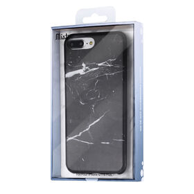 Blu Element Mist Case for iPhone 8 Plus/7 Plus/6S Plus/6 Plus Black Marble (MBMI7P)
