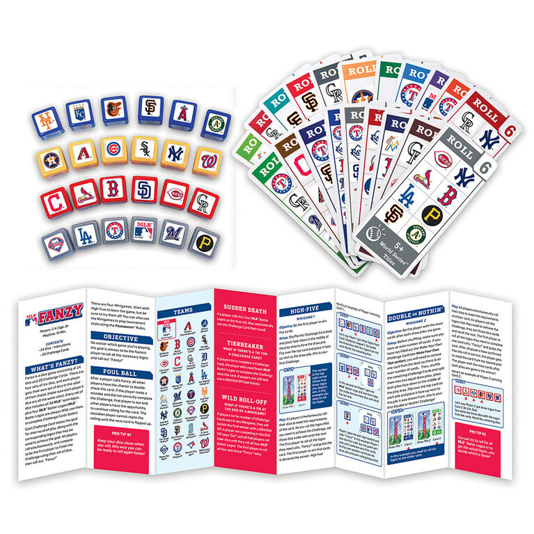 MLB Fanzy Speed Dice Game - English Edition