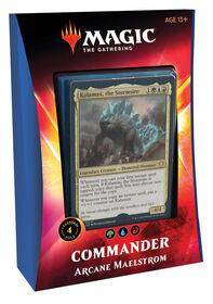 "Magic the Gathering ""Ikoria - Lair of the Behemoths"" Commander Deck - Arcane Maelstrom"