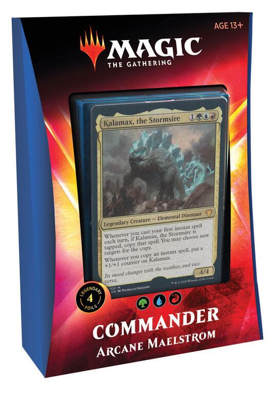 """Magic Le Rassemblement: Deck Commander """"Ikoria - Le Repaire des Béhémoths"""" - Maelstrom Ésotérique"""