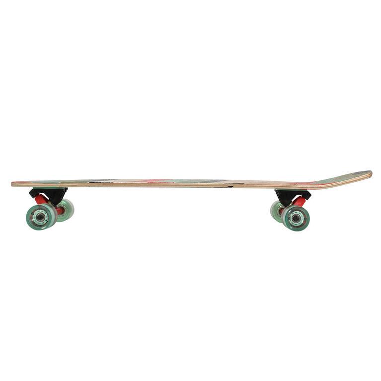 Planche à roulettes complète Kryptonics Longboard de 36 po