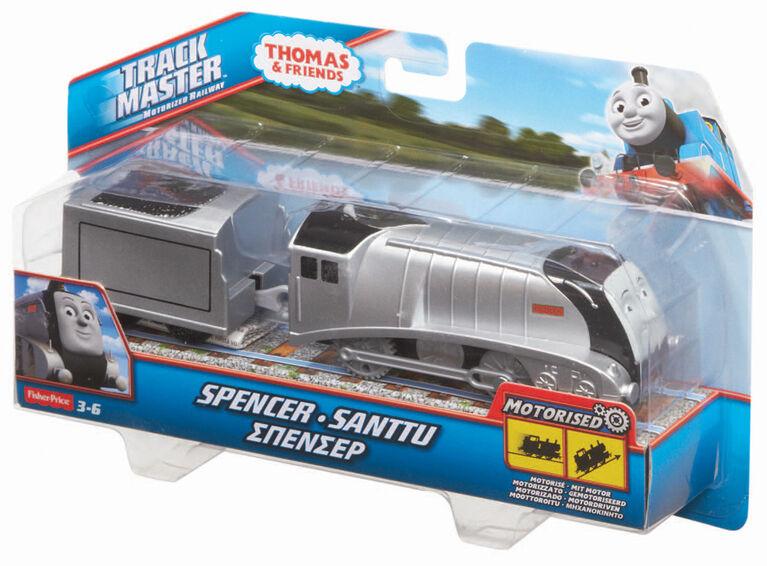 Thomas et ses amis - Locomotive motorisée Spencer TrackMaster- Édition anglaise