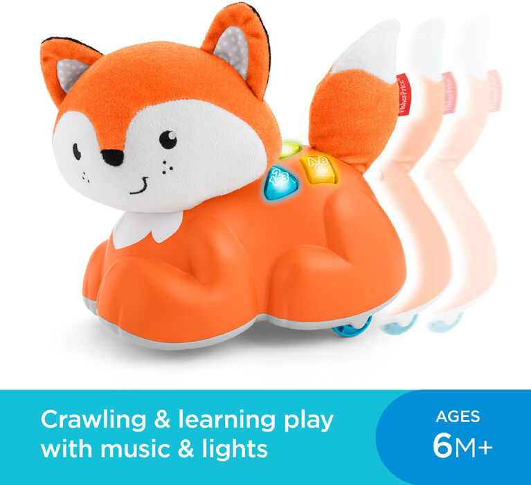 Fisher-Price Crawl After Learning Fox - English Edition
