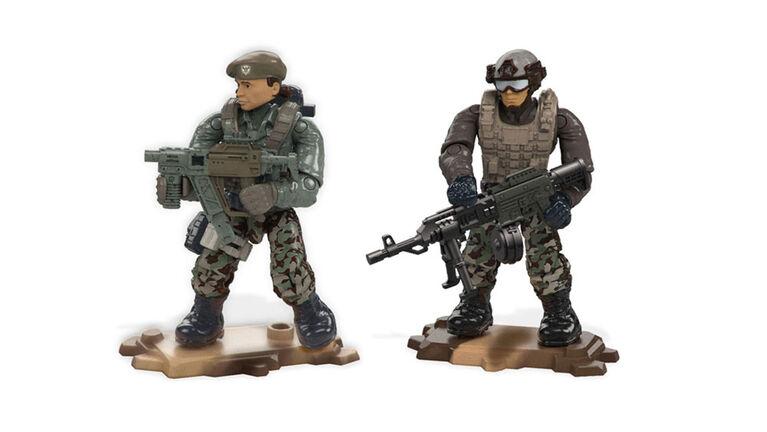 Mega Construx Call of Duty Jungle Satcom Armory Building Set