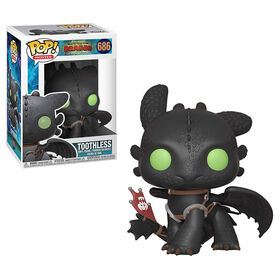 Figurine en vinyle Toothless de How To Train Your Dragon 3 par Funko POP!.