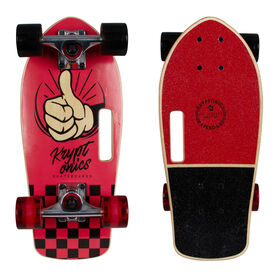 "Kryptonics Stubby 19"" Complete Skateboard All Right"