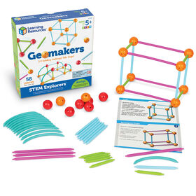 Learning Resources - Coffret STEM Explorers Geomakers