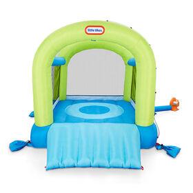 Parc de jeu gonflable 2 en 1 aquatique ou non aquatique Splash 'n Spray de Little Tikes pour enfants