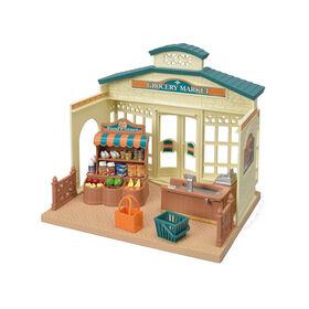 Calico Critters - Le marché de l'épicerie