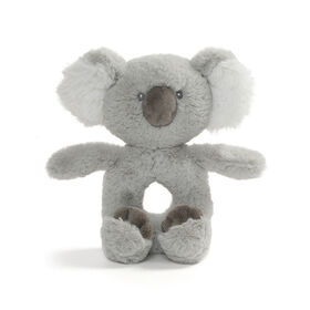 Baby GUND Baby Toothpick Shay Koala Bear Plush Rattle Stuffed Animal, Gray, 7.5""