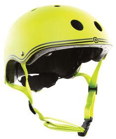 Globber Junior Helmet for Scooter - Lime Green