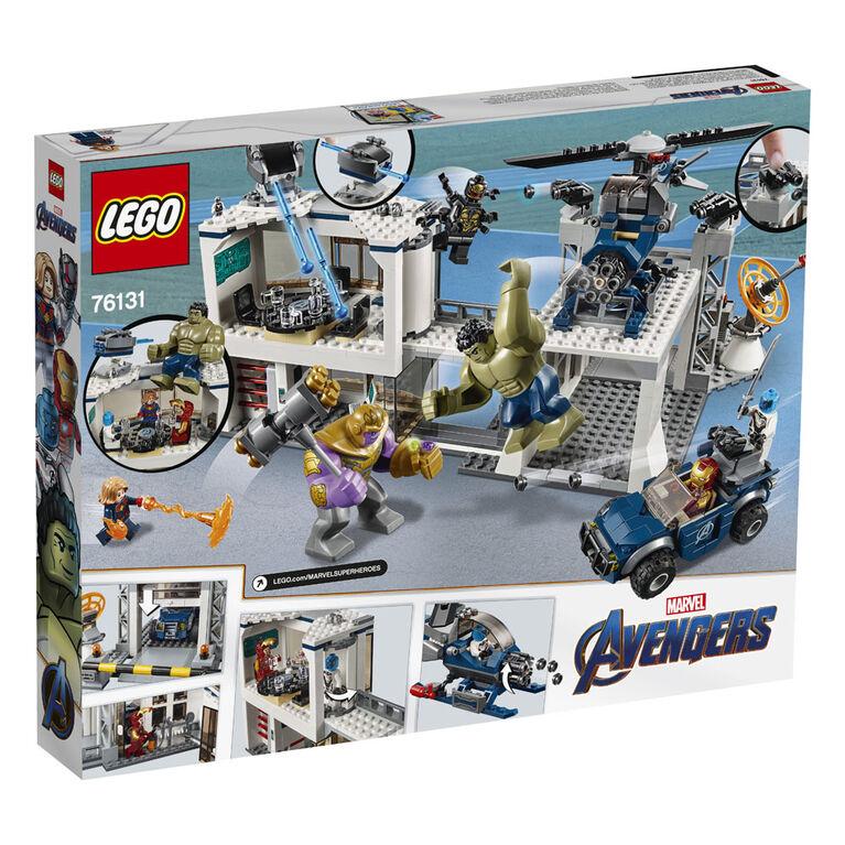 LEGO Super Heroes Marvel L'attaque du QG des Avengers 76131