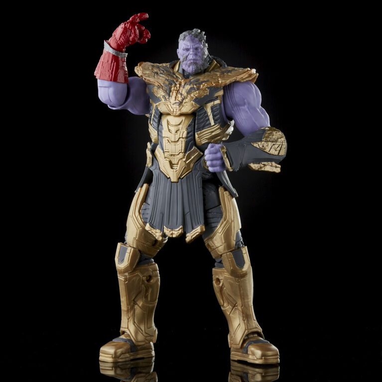 Hasbro Marvel Legends Series 6-inch Scale Action Figure 2-Pack Toy Iron Man Mark 85 vs. Thanos, Infinity Saga character