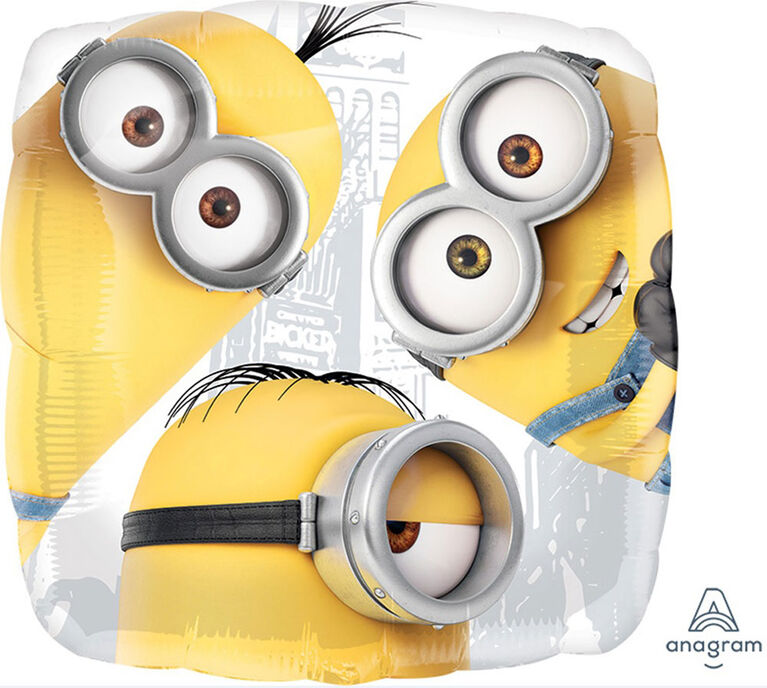 "Despicable Me Square 18"" Foil Balloon"