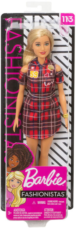 Barbie Fashionistas Doll - Patched Plaid