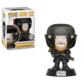 Funko POP! Movies: Star Wars Red Cup - Dryden Gangster Vinyl Figure - R Exclusive
