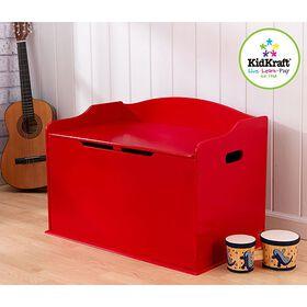 KidKraft Austin Toy Box - Red