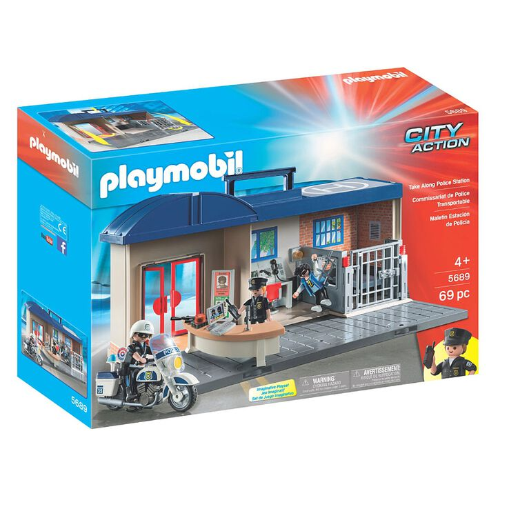 Playmobil - Take Along Police Station