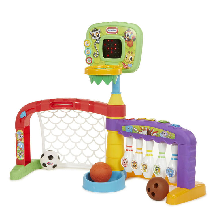 Little Tikes - 3-in-1 Sports Zone - English Edition