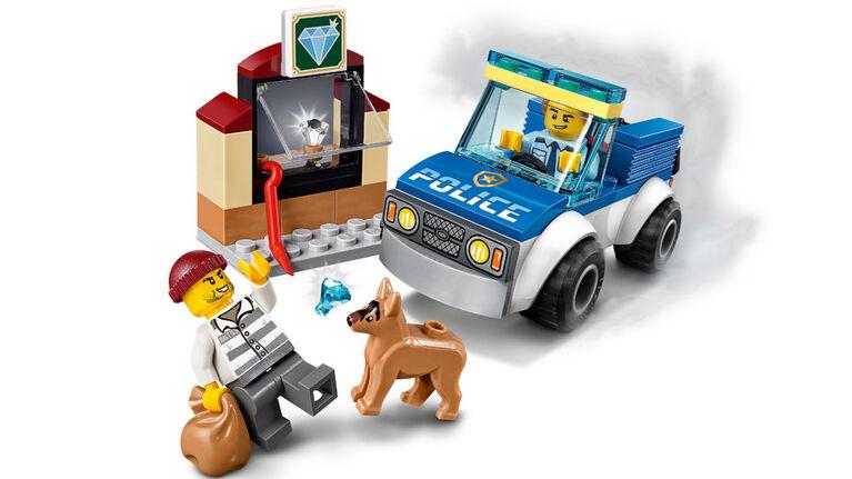 LEGO City Police L'unité cynophile de la police 60241