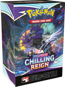 """Pokemon Sword and Shield """"Chilling Reign"""" Build and Battle Box - English Edition"""