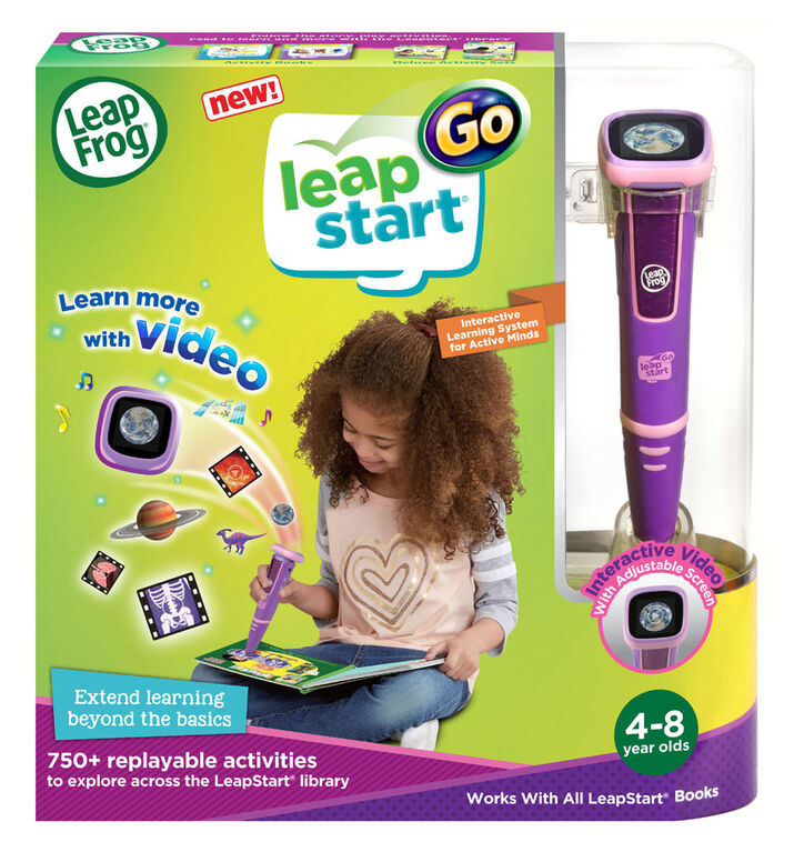 LeapFrog LeapStart Go - Pink - English Edition