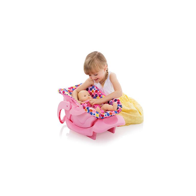 Joovy Doll Toy Infant Car Seat - Pink