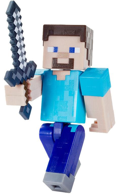 Minecraft Biome Builds Steve Figure