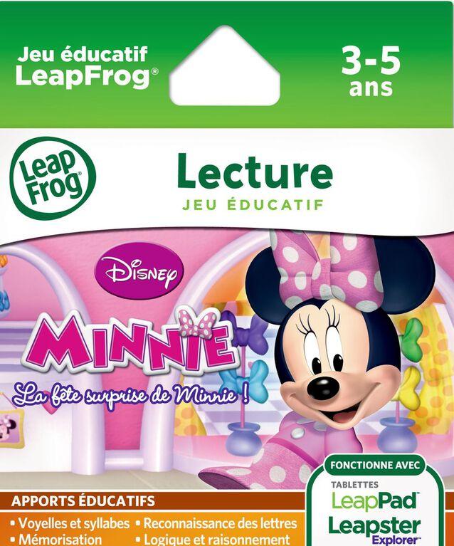 LeapFrog - Explorer Game Cartridge:La fête surprise de Minnie ! French Edition