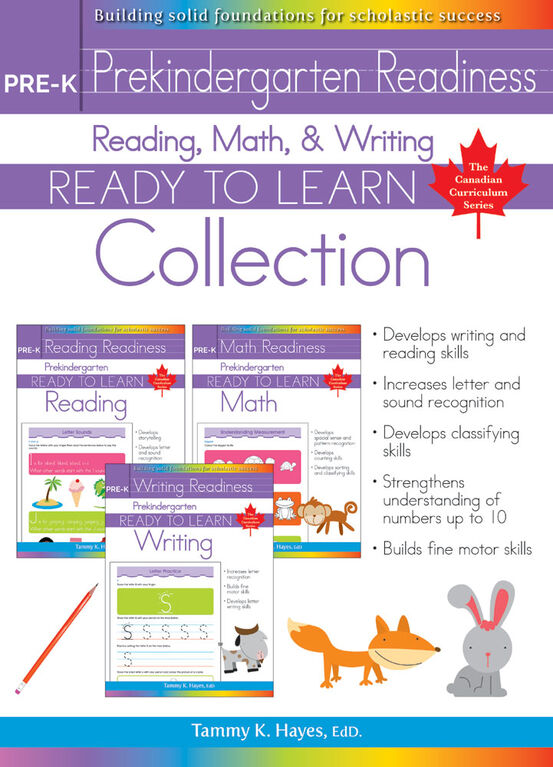 Pre-K Readiness Collection - English Edition