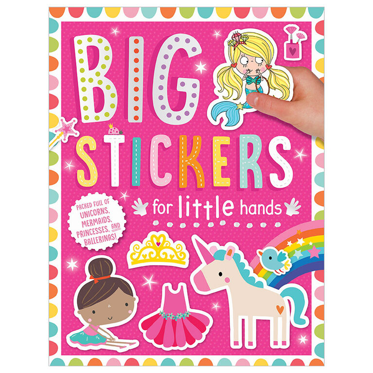 Big Stickers for Little Hands My Unicorns and Mermaids - English Edition