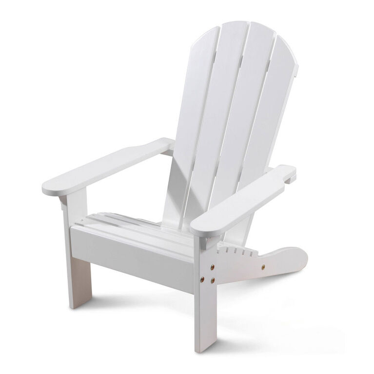 KidKraft - Chaise Adirondack - Blanche