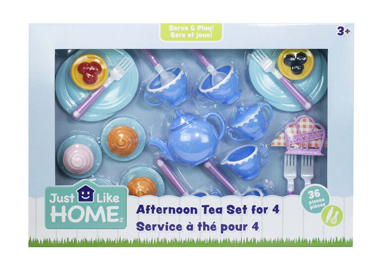 Just Like Home - Afternoon Tea Set For 4