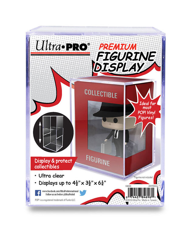 Premium Figurine UV Display for Funko POP! and Other Figurines - English Edition