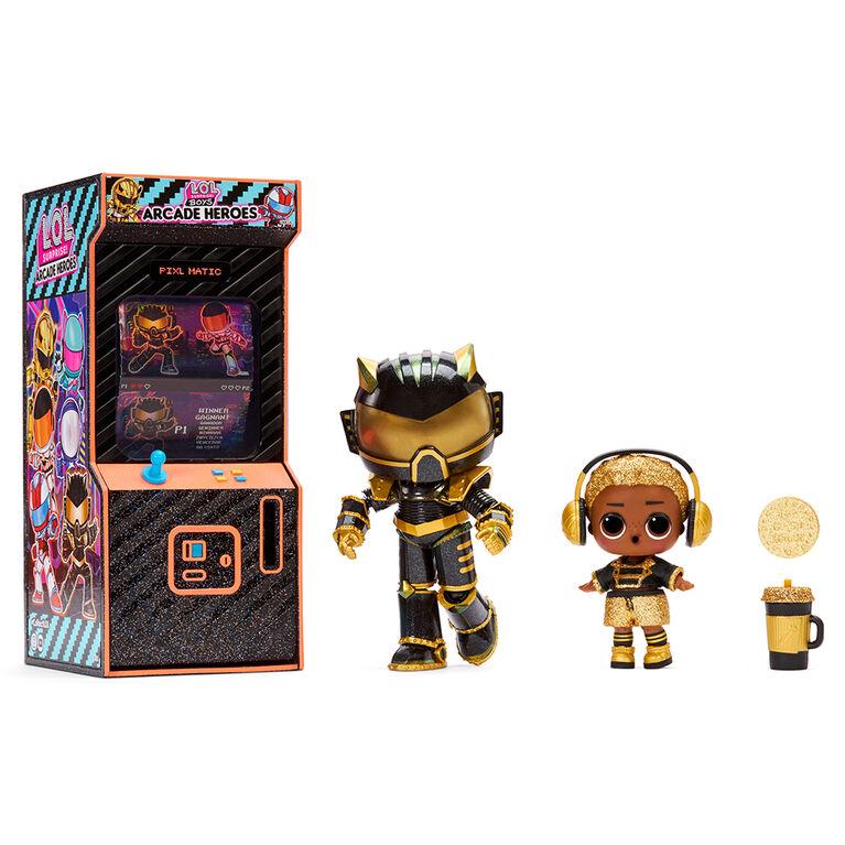 LOL Surprise Boys Arcade Heroes Series 2 Action Figure Doll
