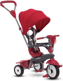 smarTrike Breeze Plus Toddler Tricycle - 4 in 1 Multi-Stage Trike