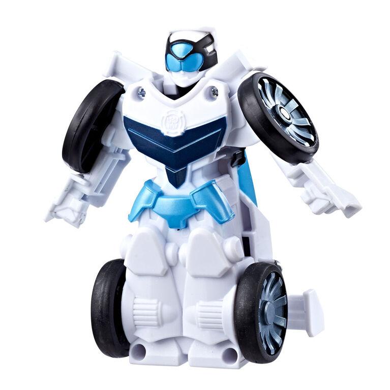Playskool Heroes Transformers Rescue Bots Flip Racers Quickshadow