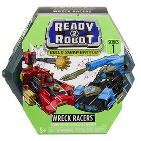 Véhicules-robots Wreck Racers Ready2Robot avec gelée