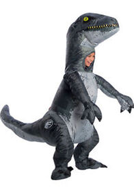 Jurassic World Velociraptor Inflatable Costume