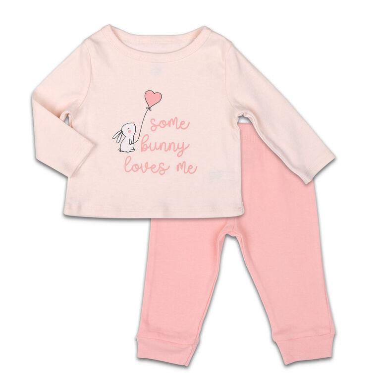 Koala Baby Shirt and Pants Set, Some Bunny Love Me - 3-6 Months