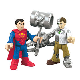 Fisher-Price Imaginext DC Super Friends – Superman et Metallo – Édition anglaise