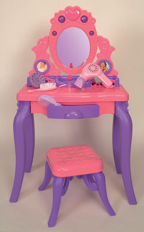 Dazzling Beauty Vanity Table