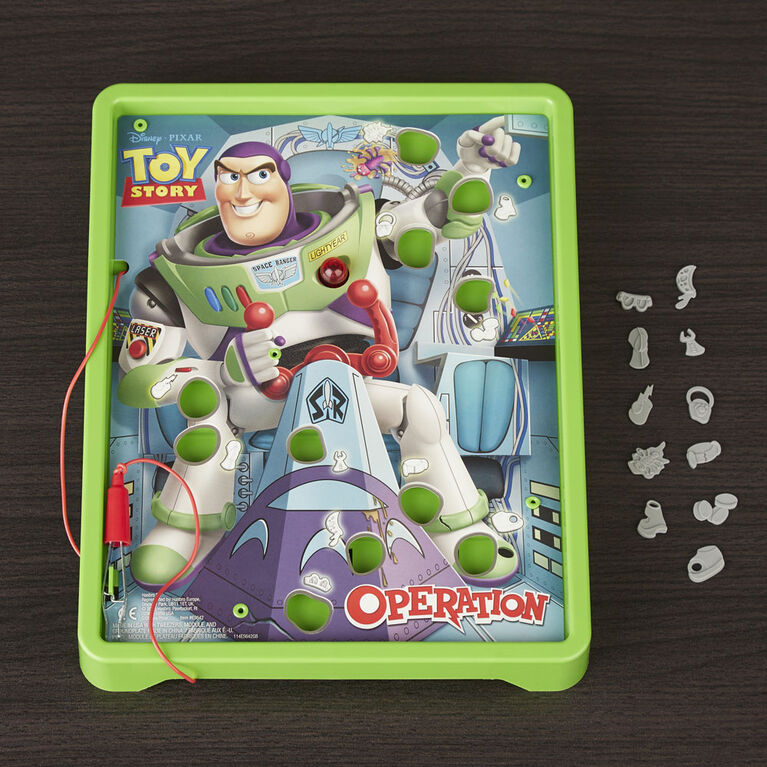 """Opération : Jeu Buzz Lightyear, Histoire de jouets de Disney/Pixar"""