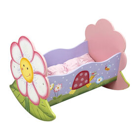 Fantasy Fields - Magic Garden Rocking Bed for Dolls