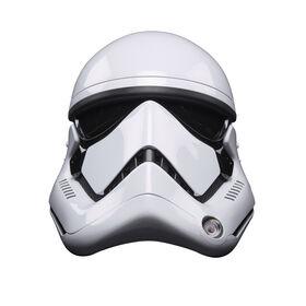 Star Wars The Black Series Casque électronique de Stormtrooper du Premier Ordre
