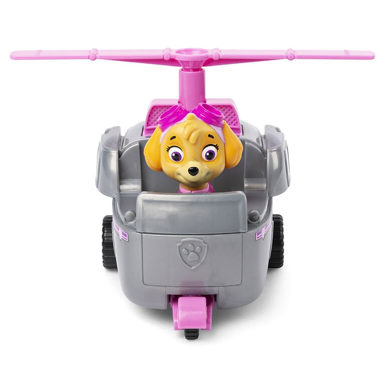 PAW Patrol, Skye's Helicopter Vehicle with Collectible Figure