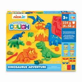 Nick Jr. Ready Steady Dough Dinosaurus Adventure - Notre exclusivité