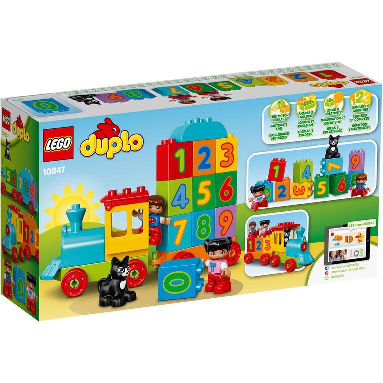 LEGO DUPLO My First Le train des chiffres 10847